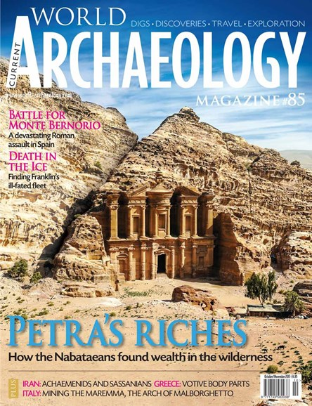 Current World Archaeology Cover - 10/1/2017