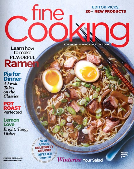Fine Cooking Cover - 2/1/2018