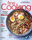 Fine Cooking Magazine 2/1/2018