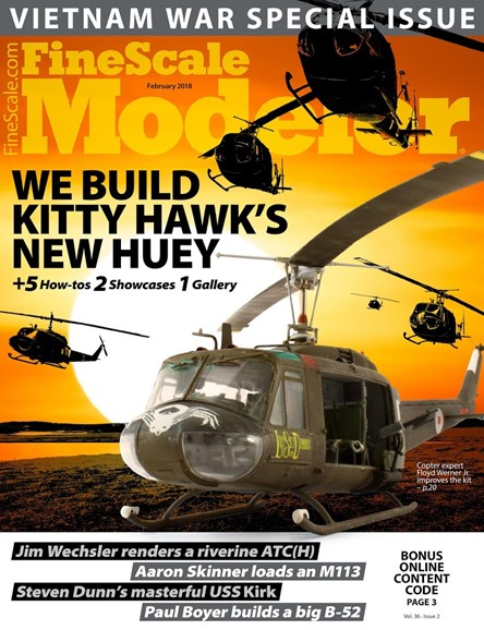 Finescale Modeler Cover - 2/1/2018