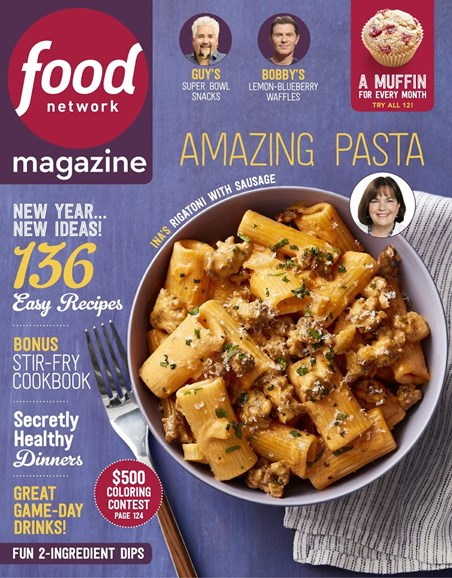 Food Network Cover - 1/1/2018