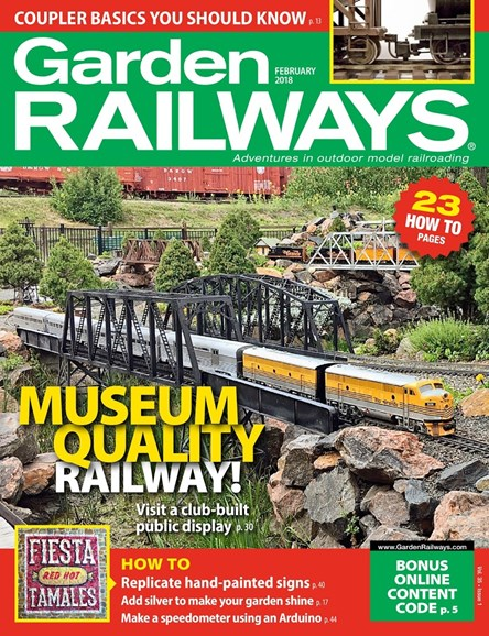 Garden Railways Cover - 2/1/2018