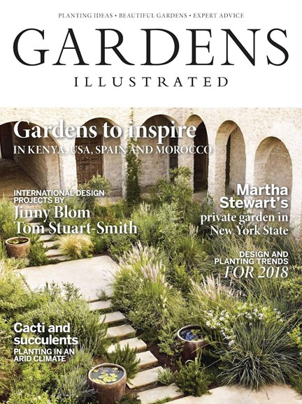 Gardens Illustrated Cover - 1/1/2018