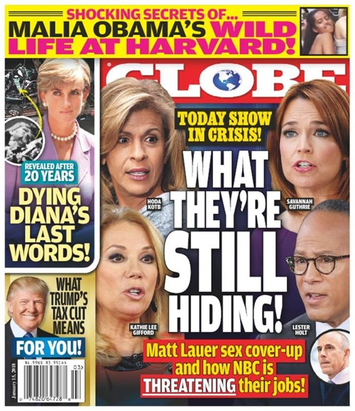 Globe Cover - 1/15/2018