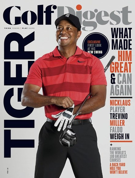 Golf Digest Cover - 2/1/2018