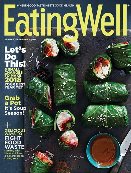 EatingWell Cover - 1/8/2018