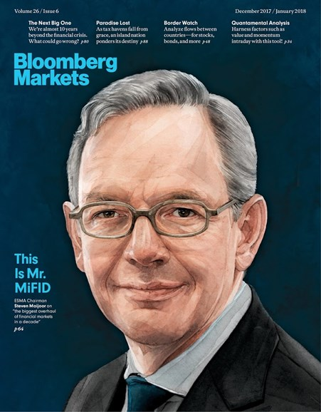 Bloomberg Markets Cover - 12/1/2017