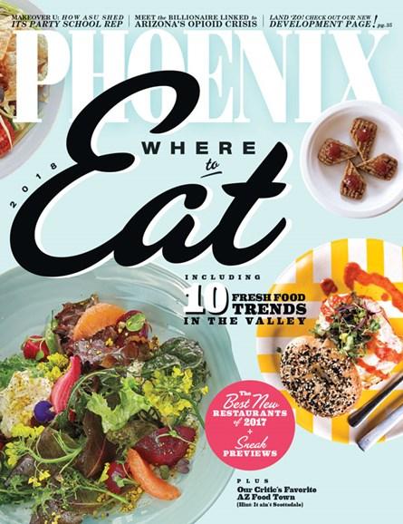 Phoenix Magazine Cover - 1/1/2018
