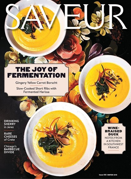 Saveur Cover - 2/1/2018