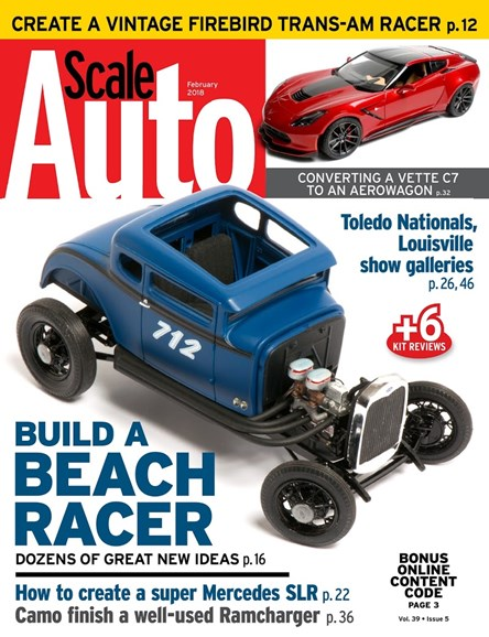 Scale Auto Magazine Cover - 2/1/2018