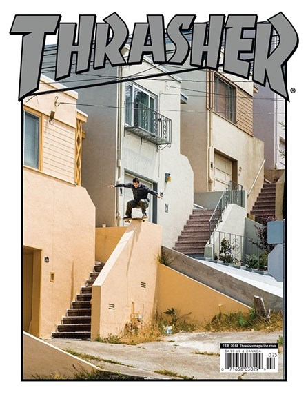 Thrasher Cover - 2/1/2018
