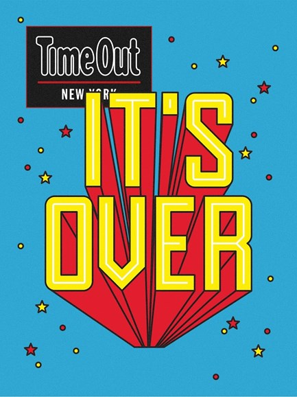 Time Out New York Cover - 1/3/2018