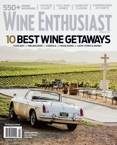 Wine Enthusiast Cover - 2/1/2018