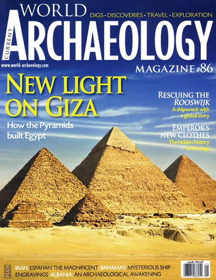 Current World Archaeology Cover - 12/1/2017