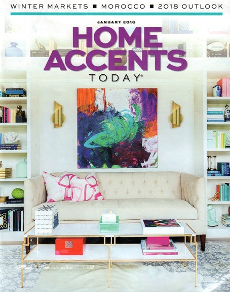 Home Accents Today Cover - 1/1/2018