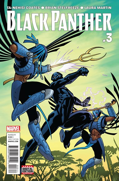 Black Panther Cover - 8/1/2016