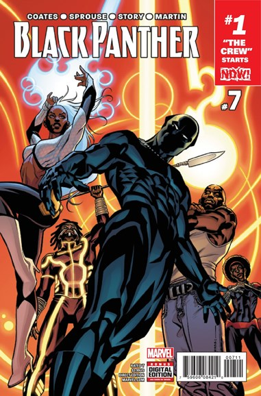 Black Panther Cover - 12/1/2016