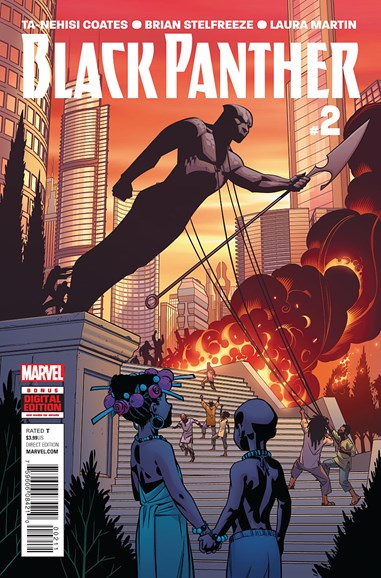 Black Panther Cover - 7/1/2016
