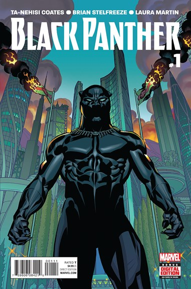 Black Panther Cover - 6/1/2016