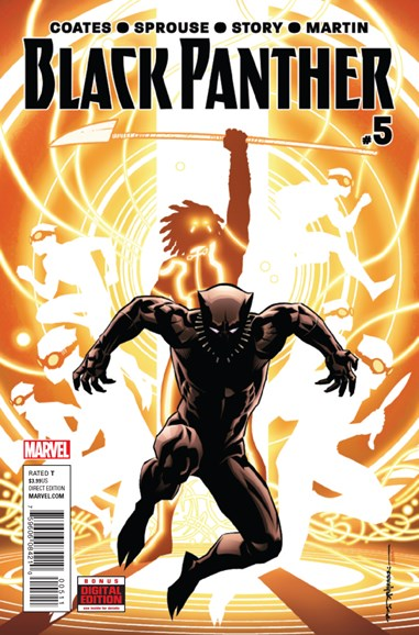 Black Panther Cover - 10/1/2016