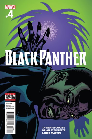 Black Panther Cover - 9/1/2016