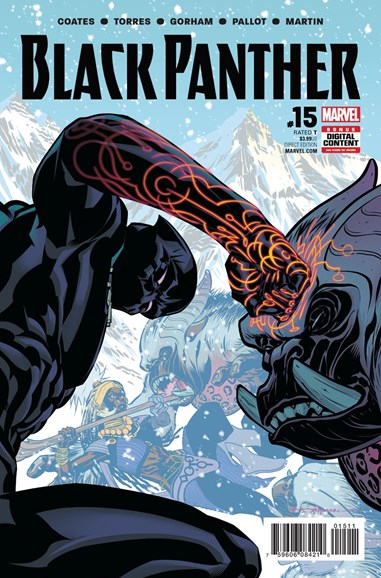 Black Panther Cover - 8/1/2017