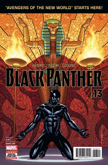 Black Panther Cover - 6/1/2017