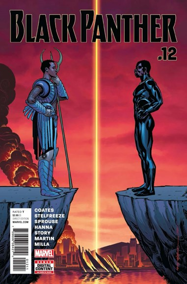 Black Panther Cover - 5/1/2017