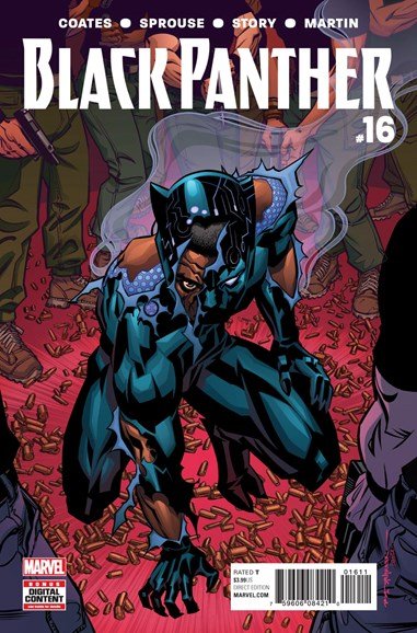 Black Panther Cover - 9/1/2017