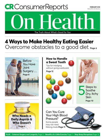 Consumer Reports On Health Cover - 2/1/2018