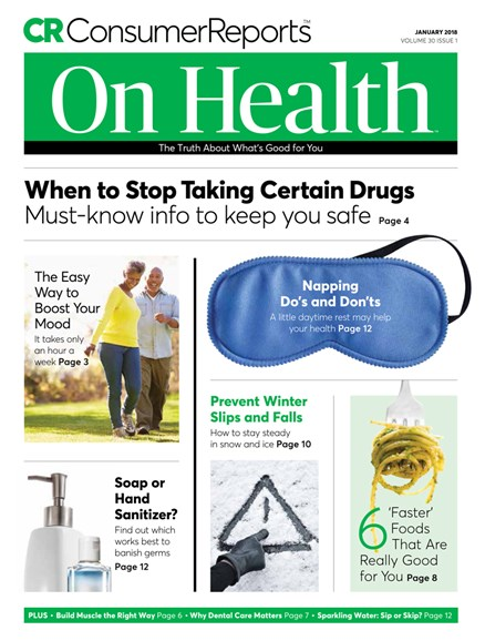 Consumer Reports On Health Cover - 1/1/2018