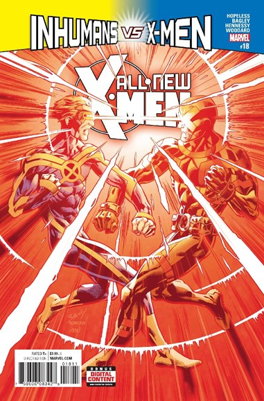 X-Men Blue Cover - 4/1/2017