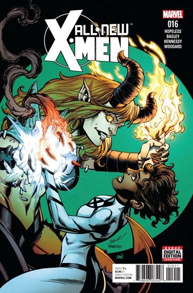 X-Men Blue Cover - 2/1/2017