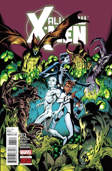 X-Men Blue Cover - 11/1/2016