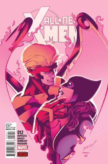 X-Men Blue Cover - 10/1/2016
