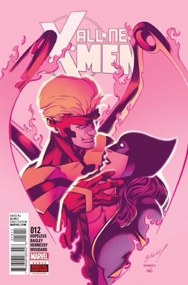 X-Men Blue Cover - 10/1/2016