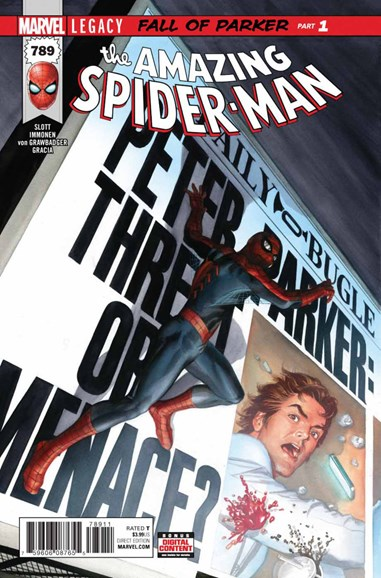 Amazing Spider-Man Cover - 12/1/2017