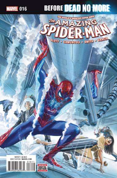 Amazing Spider-Man Cover - 10/1/2016