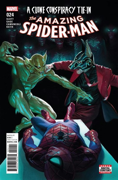 Amazing Spider-Man Cover - 4/1/2017