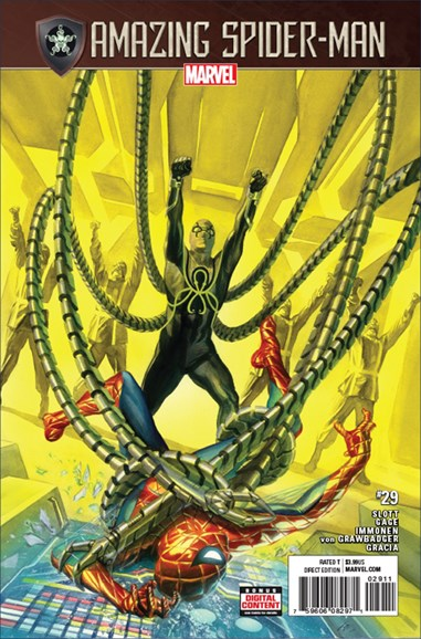 Amazing Spider-Man Cover - 8/15/2017