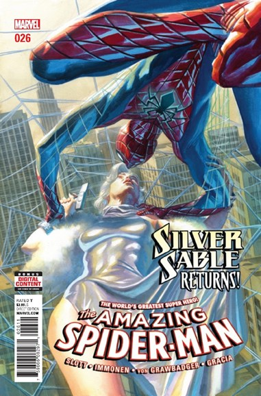 Amazing Spider-Man Cover - 6/1/2017