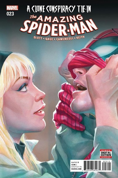 Amazing Spider-Man Cover - 3/1/2017