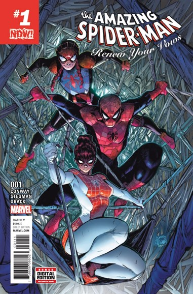 Amazing Spider-Man: Renew Your Vows Cover - 1/1/2017