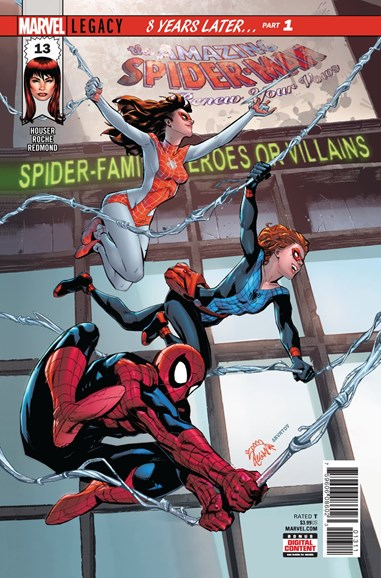 Amazing Spider-Man: Renew Your Vows Cover - 1/1/2018