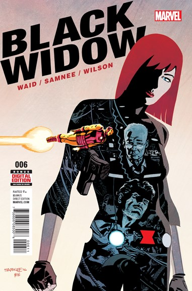 Black Widow Cover - 10/1/2016
