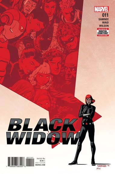 Black Widow Cover - 4/1/2017