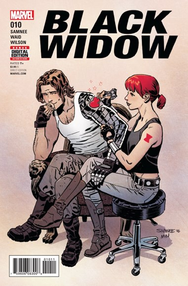 Black Widow Cover - 3/1/2017