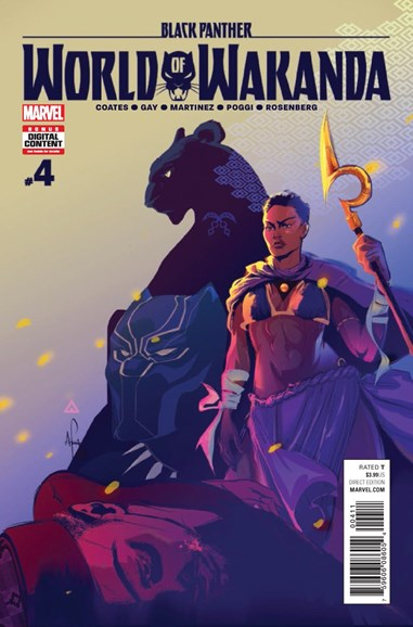 Black Panther: World of Wakanda Cover - 4/1/2017