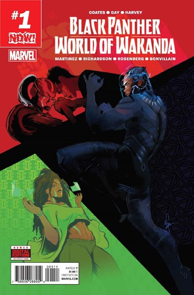 Black Panther: World of Wakanda Cover - 1/1/2017