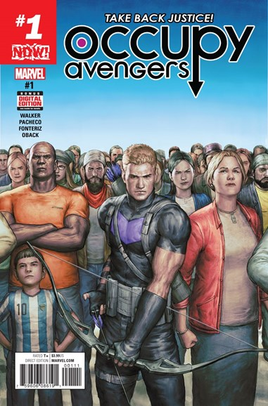 Occupy Avengers Cover - 1/1/2017